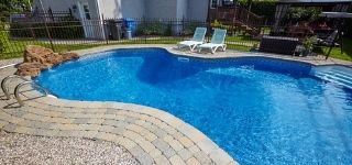 apartment complex swimming pool