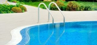 home swimming pool ladder