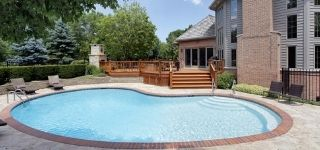 round residential pool